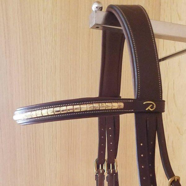 Dyon-clincher-pandebånd-brun