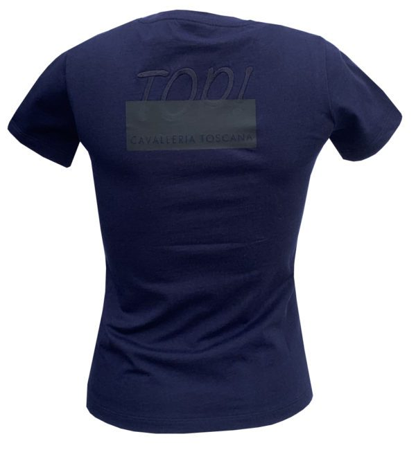 Cavalleria Toscana T-shirt Junior navy bag